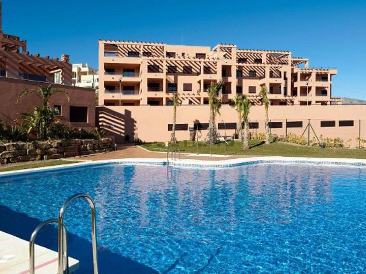Very nice, modern, elevated 2 bedroom ground floor apartment with panoramic open sea views, South We, Spain