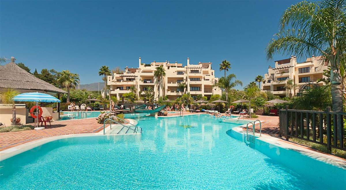 A beautifully presented beachfront, garden apartment built to luxury standards with superb sea views, Spain