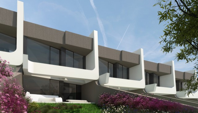 New townhouse in Bavaria Golf development.  Consisting of 3 bedrooms, 2 bathrooms, toilet, living ro,Spain