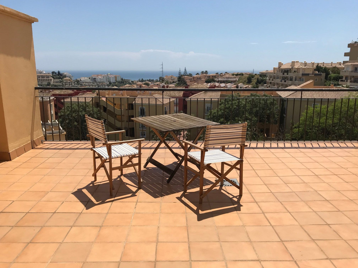 THIS  DUPLEX PENTHOUSE 3 BEDS 2 BATHS  IN THE MIDDLE PART OF RIVIERA WITH SEA VIEWS AND SOUTH FACING,Spain