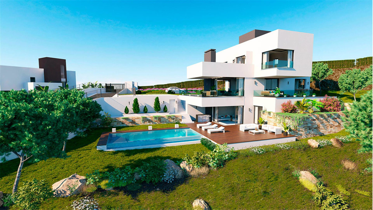 Brand New Luxury contemporary villa situated in the exclusive area of Monte Mayor and boasting stunn, Spain