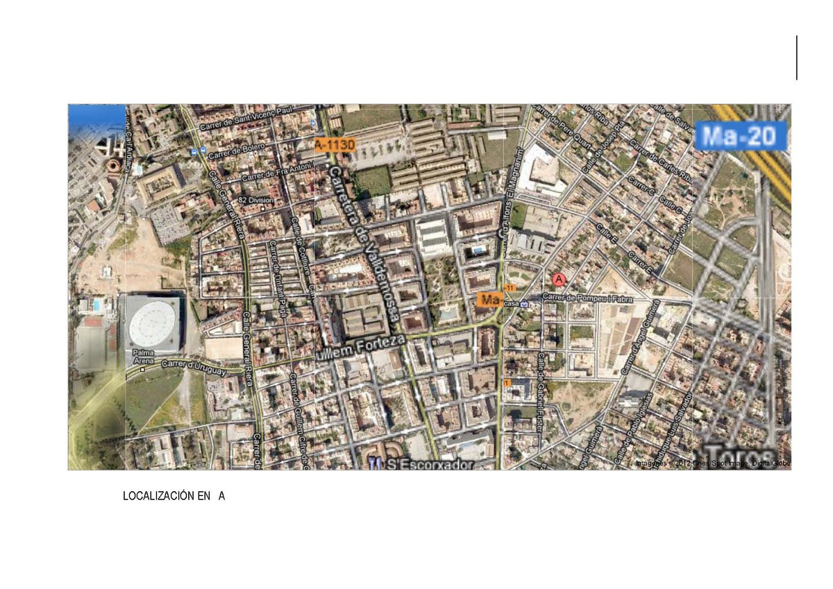 For sale shop in the city of Palma de Mallorca, consisting of local 150m2, 30m2 patio, has two entri,Spain