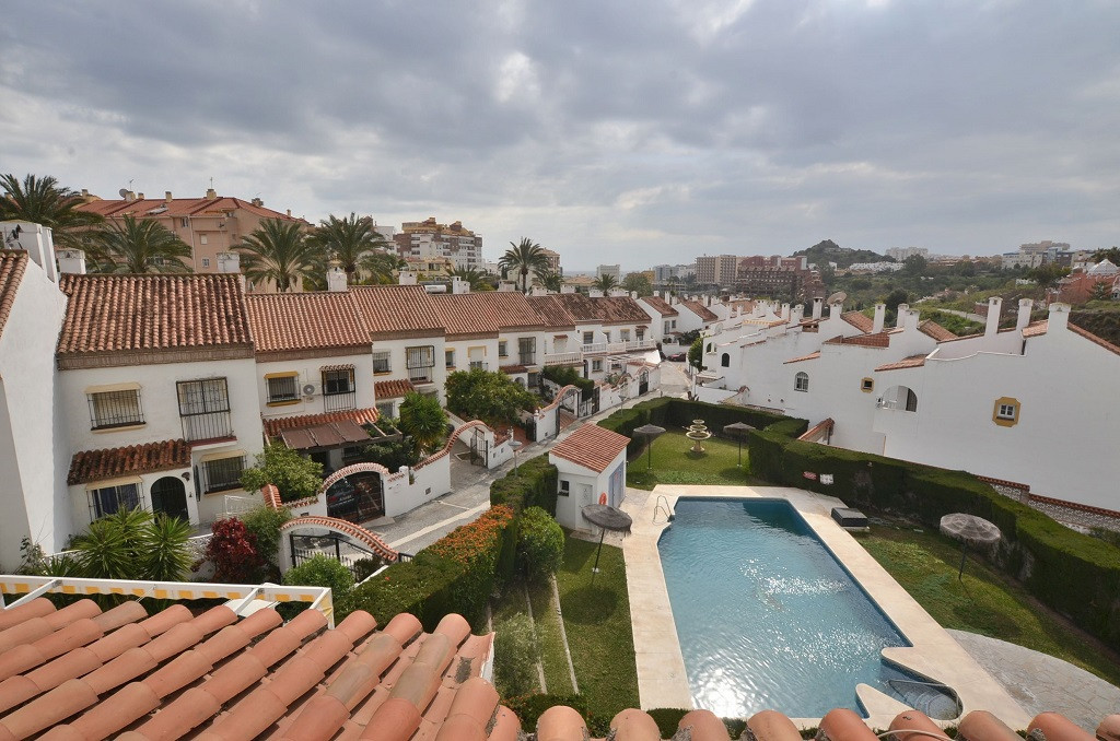 WONDERFUL TOWNHOUSE located in Benalmadena Costa, in private urbanization with only townhouses, in t,Spain