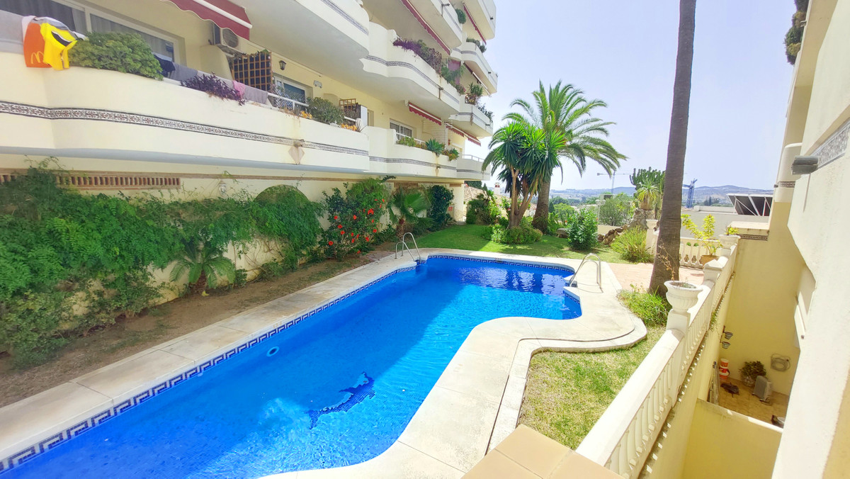 In Mijas Golf, Mijas Costa on the Costa del Sol, Large 4 bedroom apartment for sale with a huge west,Spain
