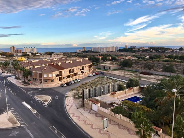 Beautiful new apartment with two bedrooms and two bathrooms in El Campello, with terrace and view of,Spain
