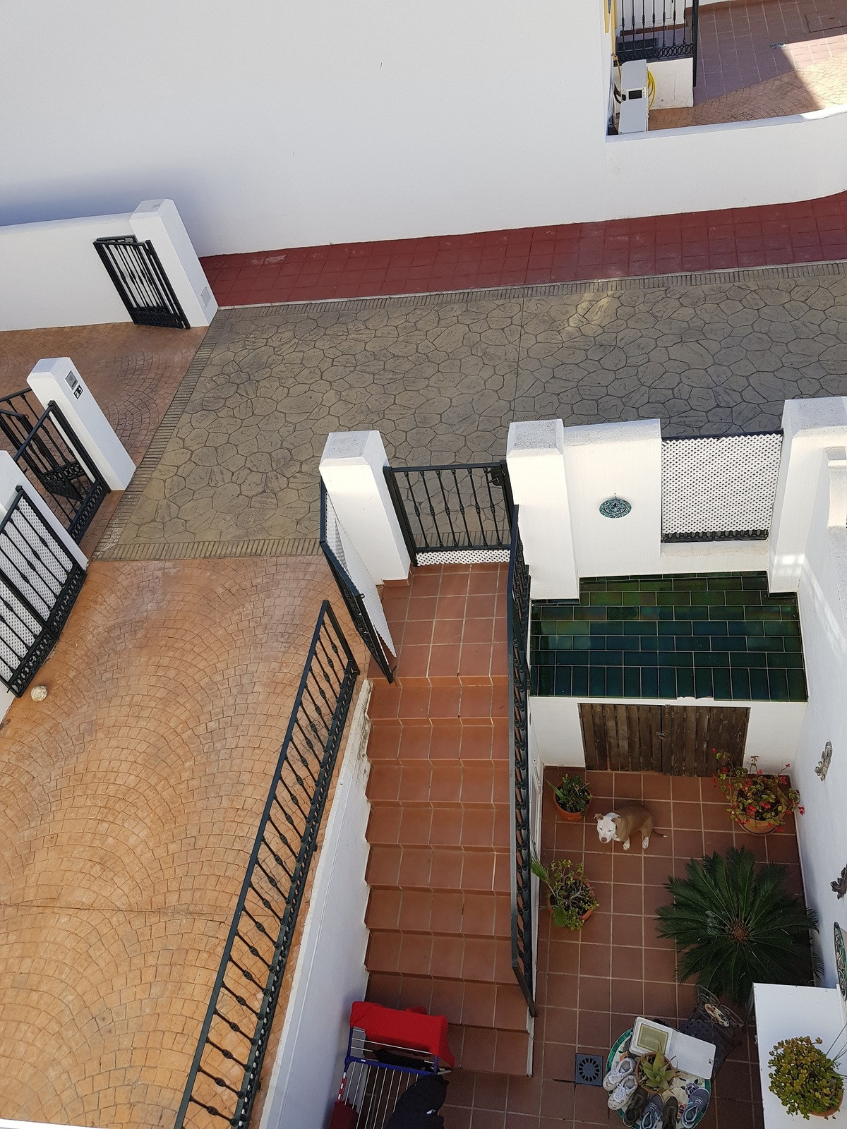 Very nice and bright 3 storey terraced house in a quiet urbanization in Alhaurin Golf, with panorami, Spain