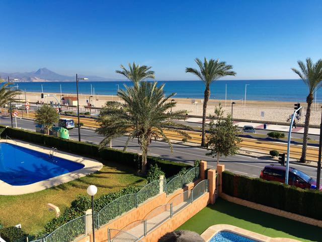 Beachfront 3 bedroom apartment, impeccably presented with incredible views and located in the middle,Spain