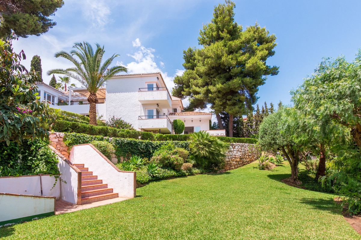 Large family villa in Campo Mijas (Mijas Costa), standing in a double plot between 2 streets, and of,Spain