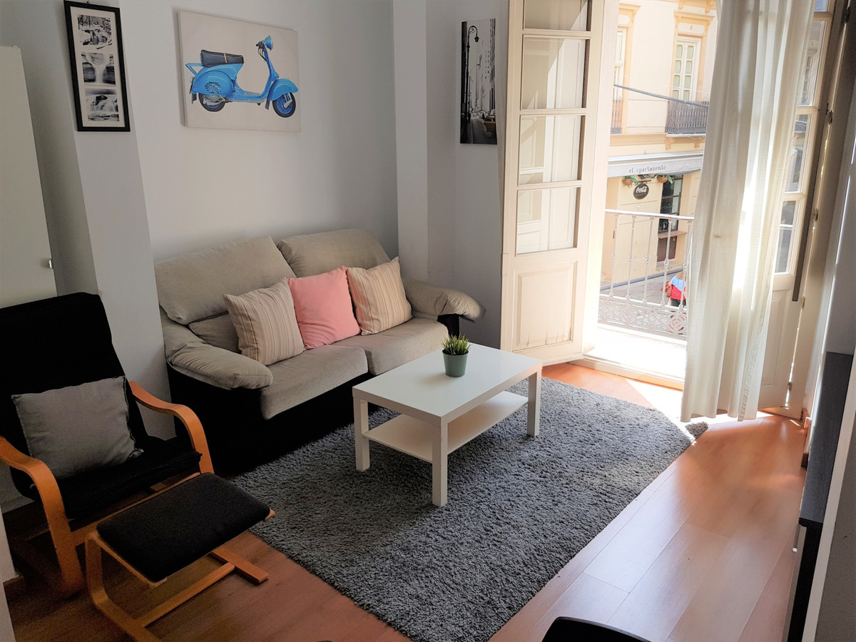 A modern apartment in one of the best locations in the historic centre of Malaga. This apartment bri, Spain