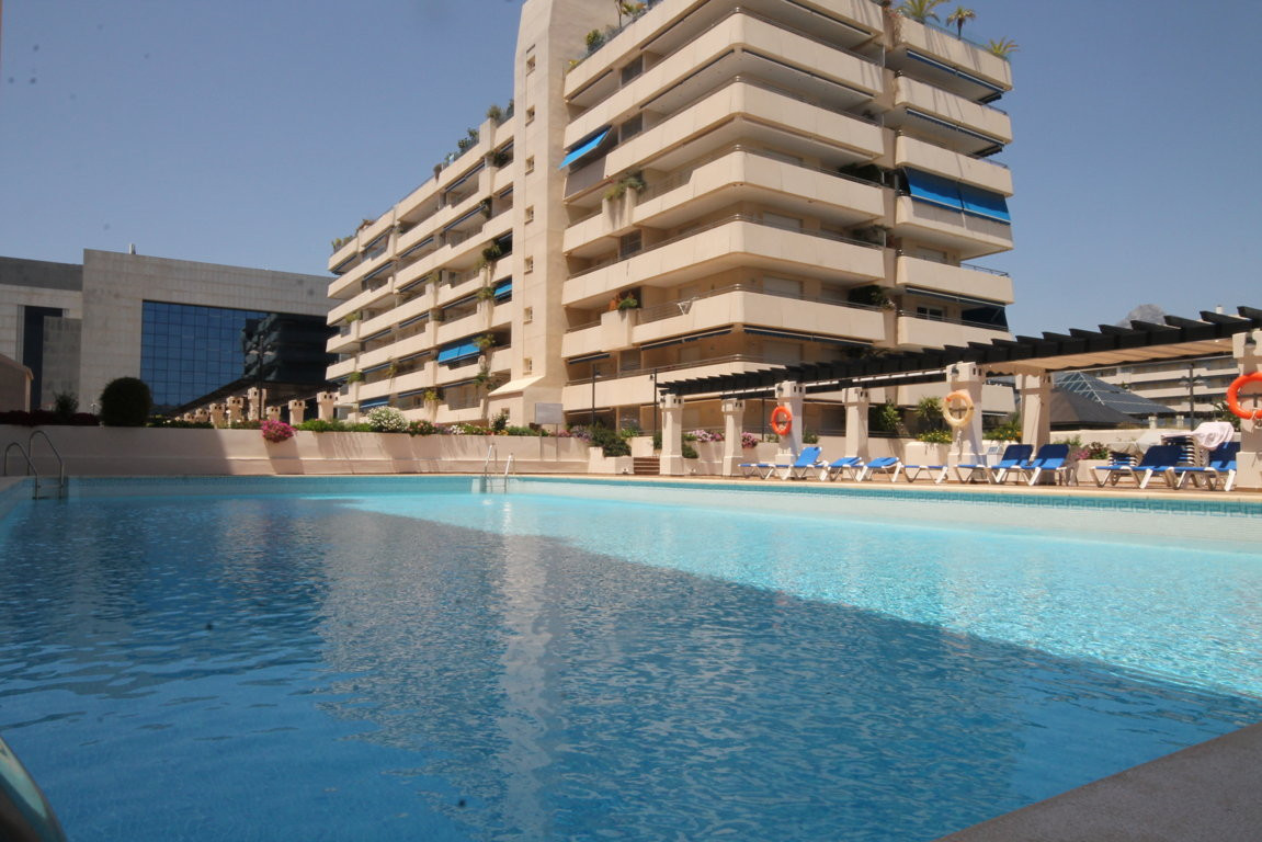 Corner apartment !! With 3 bedrooms located in the heart of Puerto Banus, next to the beach and walk,Spain