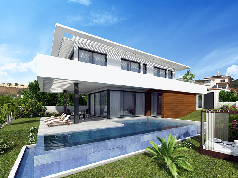 Location  This project is situated just a 5 minute walk from La Cala de Mijas and has breathtaking v, Spain