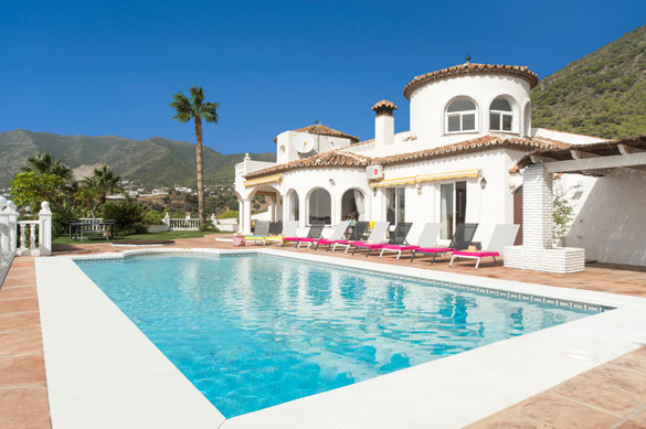 Huge 6-bedroom villa with private pool and breathtaking views for sale in Mijas, Costa del Sol. Loca, Spain