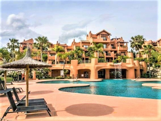 Middle Floor Apartment, New Golden Mile, Costa del Sol. 2 Bedrooms, 2 Bathrooms, Built 75 m&sup2, Spain