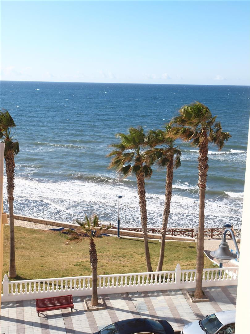 Super flat in the area of El Faro de Torrox Costa overlooking the sea; consists of a spacious living, Spain