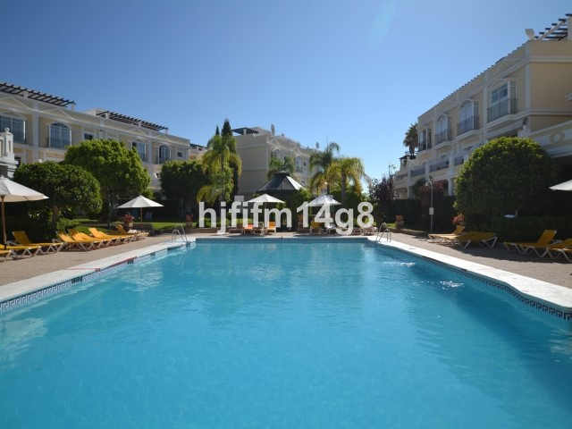 Two bedroom garden apartment for sale situated in Aloha Gardens, a popular complex with a selection ,Spain