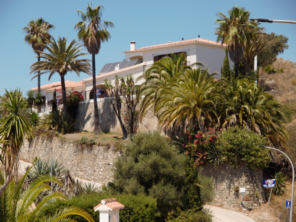 Panoramic views of the sea from this Villa, consists of a spacious living room with fireplace and he,Spain
