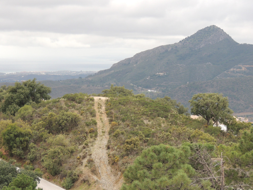 Hill top plot, one minute from the North Gate.  Panoramic views to the south and west.,Spain