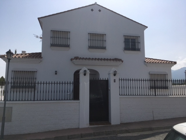 Brandnew German quality build Andalucian style detached villa with amazing views in very good area. ,Spain