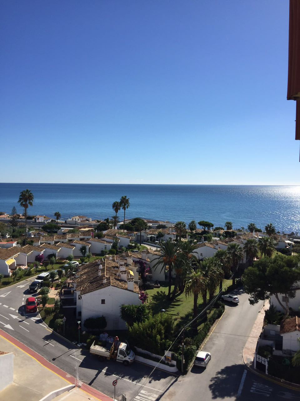 Cozy estudio in nice and remodeled Urbanization with swimming pool and lift.The flat has sea view an,Spain