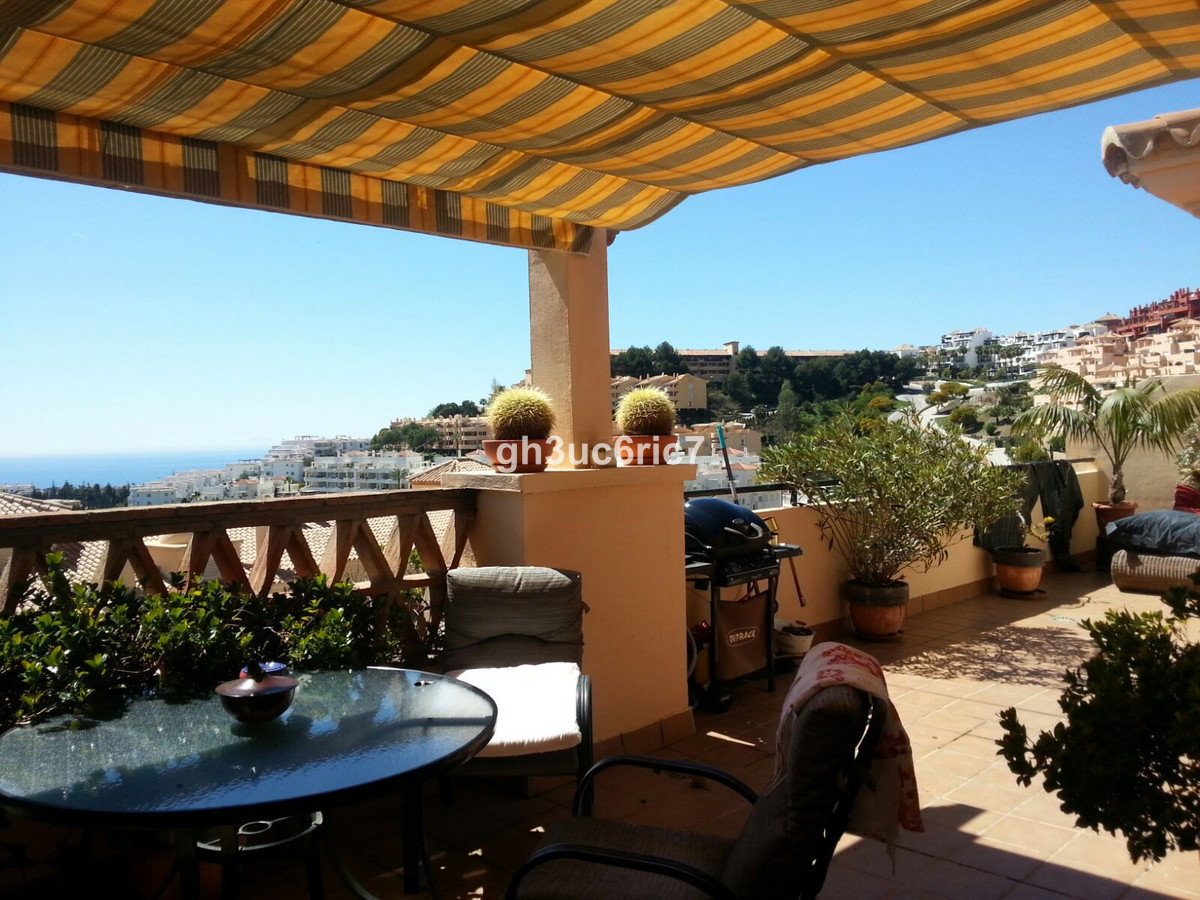Reduced!! Nice south facing one level penthouse with a huge sunny terrace with lovely sea views even,Spain