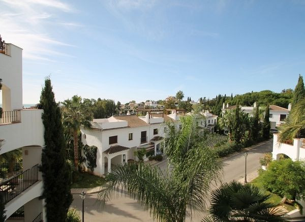 This apartment is located in a privileged location on Marbella's Golden Mile,within Senorio de M,Spain