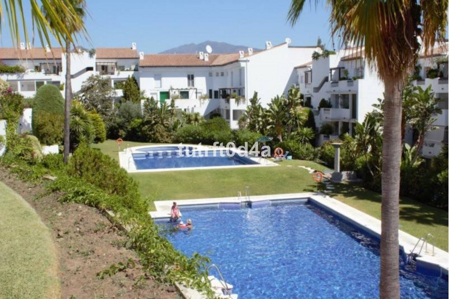 MIDDLE FLOOR WITH PARTIAL SEA VIEWS.   Immaculate 2 bedroom apartment located inside a well kept and, Spain