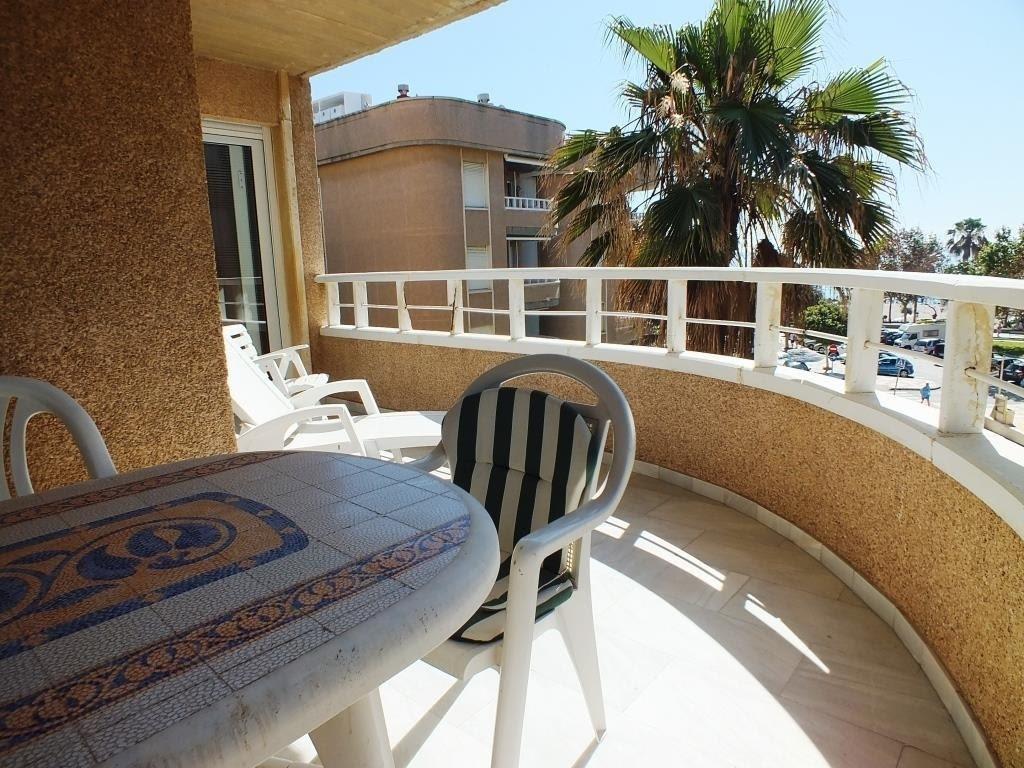 Middle Floor Apartment, La Carihuela, Torremolinos, Costa del Sol. 2 Bedrooms, 2 Bathrooms, Built 10,Spain