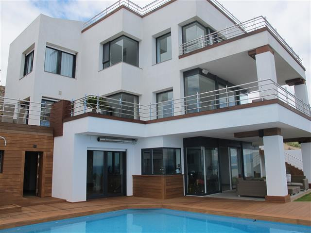 Exclusivity awaits you.  This amazing villa is located above the the beaches of Casares, Manilva and,Spain
