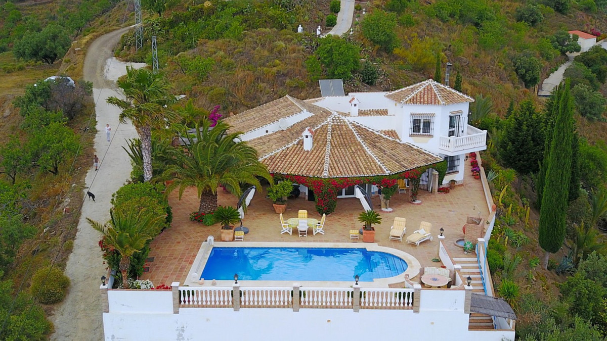 RESERVED   Wonderful Villa with panoramic views to the sea, consists of a spacious living room with ,Spain