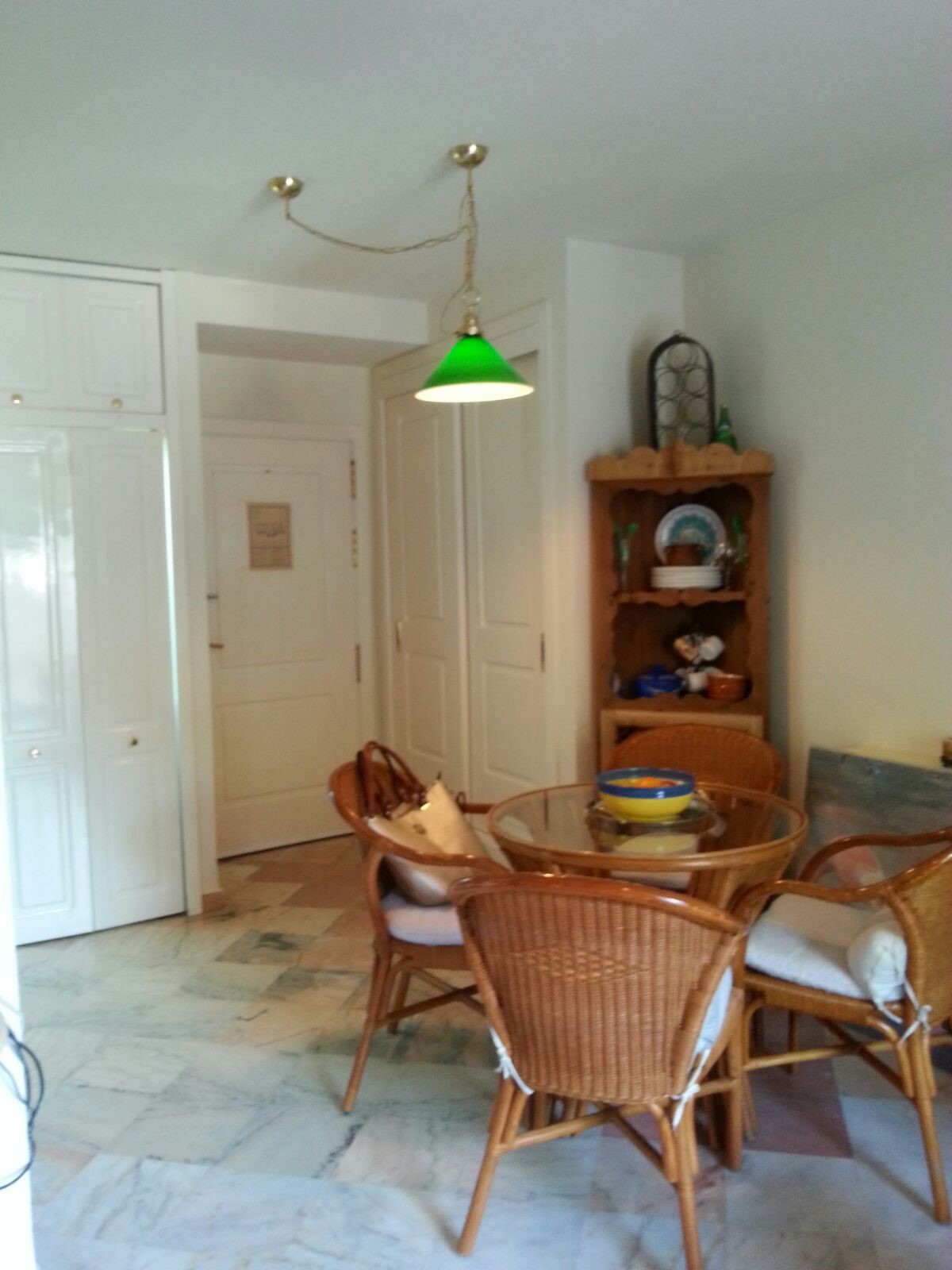 Nice studio in Urbanization Romana Playa, with bathroom and kichen and big terrace  with a lot of su, Spain