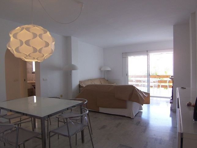 Coquettish apartment 2 minutes before the beach, patio with very agreeable conference indicated to l,Spain