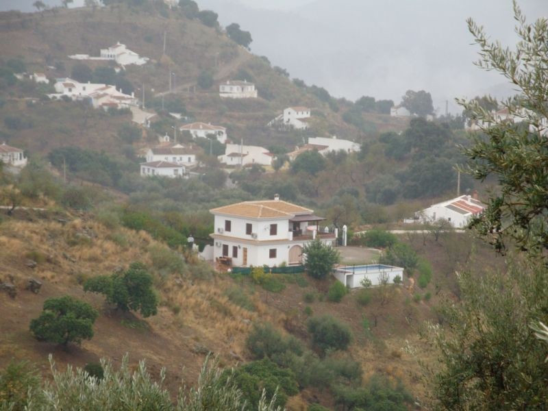 This very spacious villa is situated in the hills near the beautiful village of Comares. The accommo,Spain