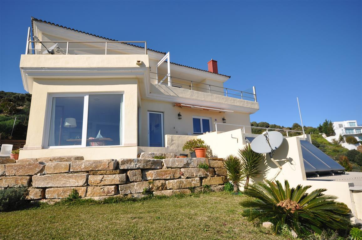 South facing villa of with breath-taking, panoramic vistas over the Straits of Gibraltar to the Rif , Spain