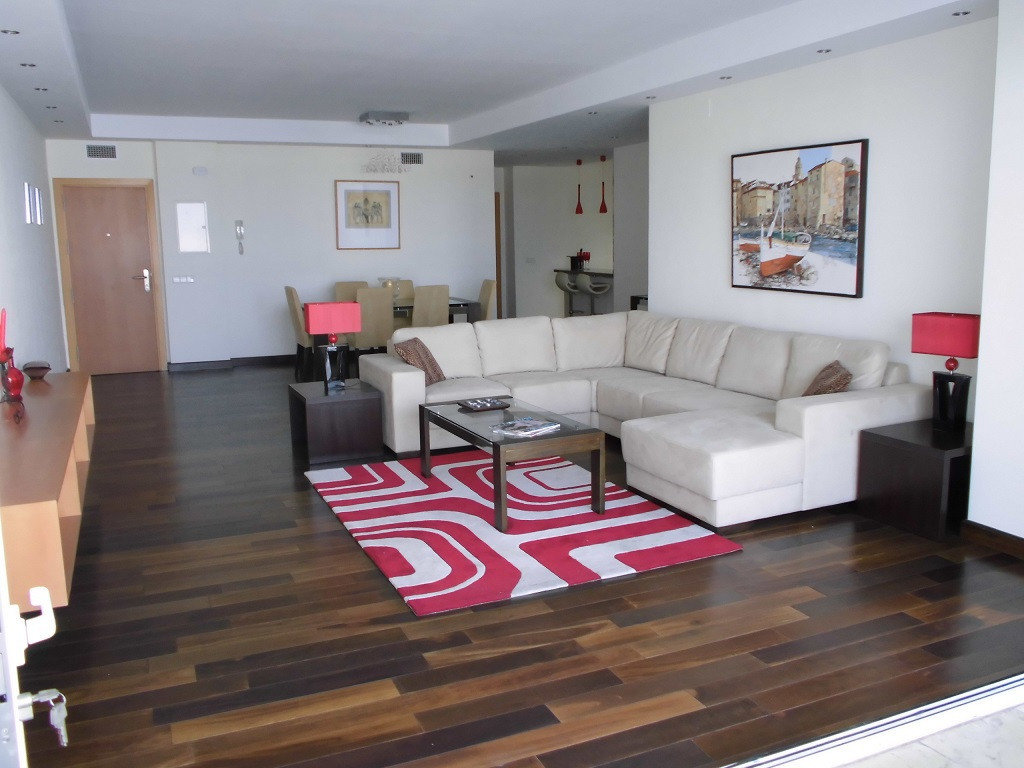 A LARGE SPACIOUS APARTMENT ON THE FRONT LINE IN PUERTO BANUS DESIGNED AND DECORATED BY ONE OF MARBEL, Spain