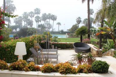 Luxury ground floor garden apartment located at Puerto Banus with lovely sea views, It has 359 sqm b,Spain