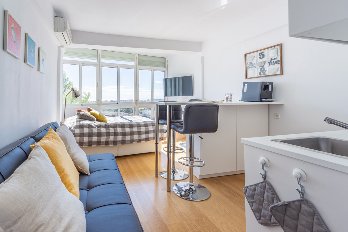 This apartment offers breathtaking views over Nueva Andalucia, San Pedro and the ocean with walking ,Spain