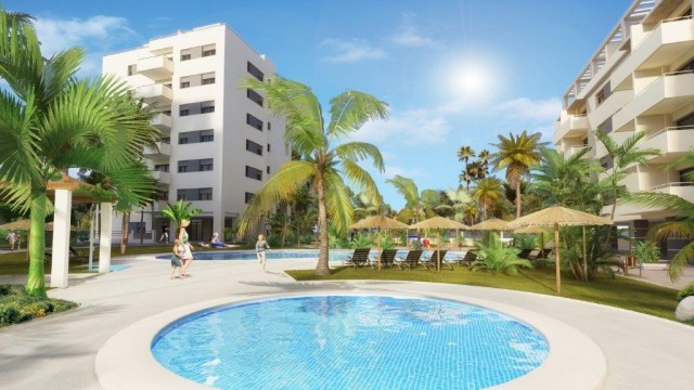 New development in Torre del Mar, consists of apartments with bedroom, bathroom, kitchens, living ro, Spain