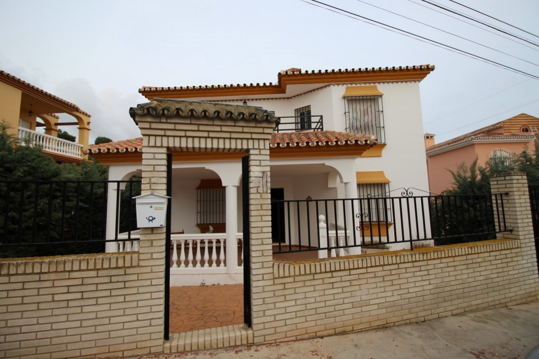 Beautiful villa with seaview in Chiches Costa. The House is divided into three floors, main floor co, Spain