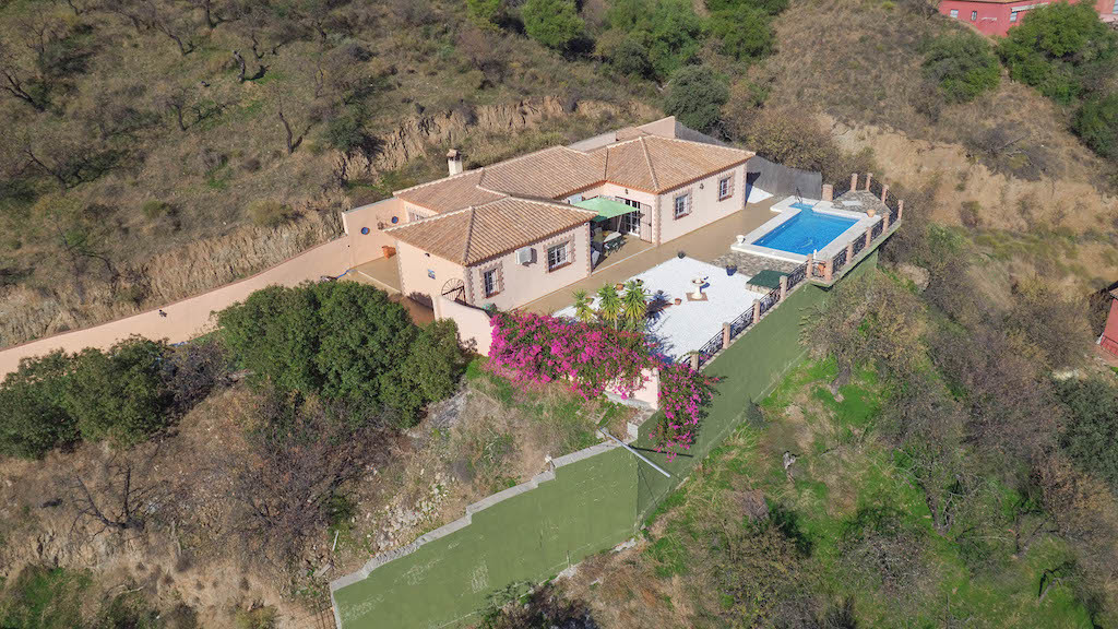 Breathtaking views.  This detached villa in one of the most exclusive areas in the region oozes peac,Spain