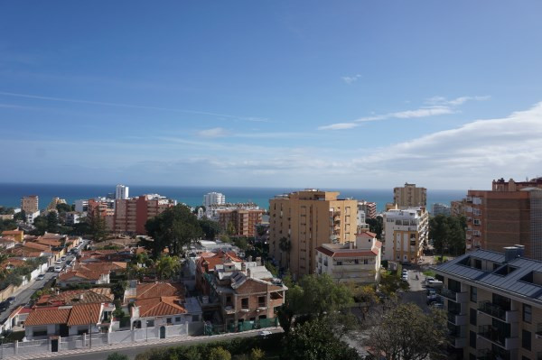 FANTASTIC 2 BEDROOM 2 BATHROOM WITH PANORAMIC VIEWS IN BENALMADENA COSTA.  WALK IN CONDITION FULLY R, Spain