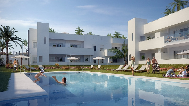 * NUEVA ANDALUCIA/PUERTO BANUS,  A three bedroom  BRAND new apartment, (COMPLETION EARLY 2017), qual,Spain