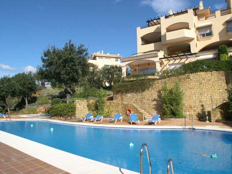 Beautiful spacious south facing garden-apartment with a nice large terrace and panoramic Sea Views i, Spain