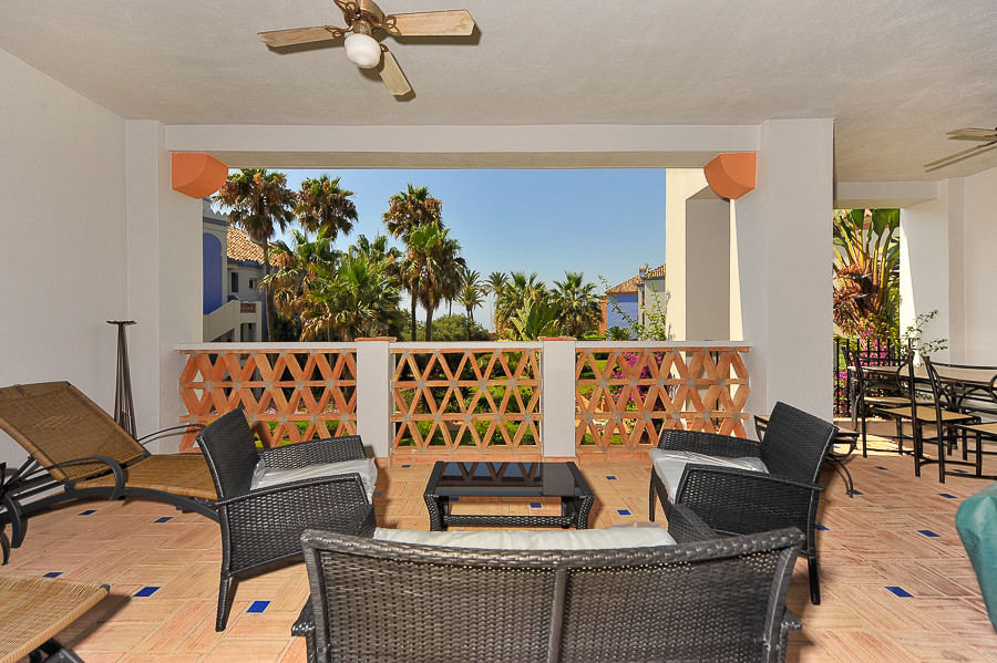 Beautiful Moorish influenced beachfront complex situated in the popular area of Casares; La Perla de,Spain