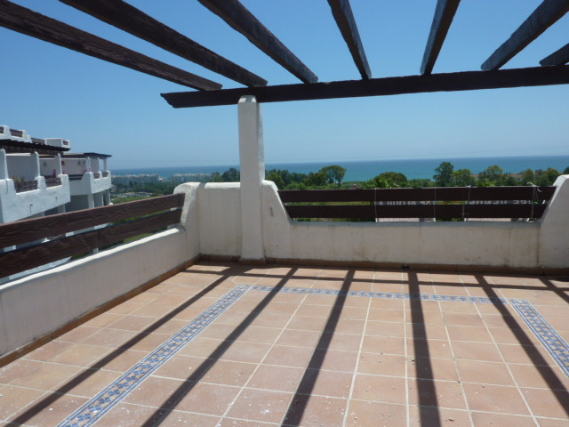 Two bedroom apartment situated in a beautifull complex  of Marbella west, with  40 m sunny tarrace o, Spain