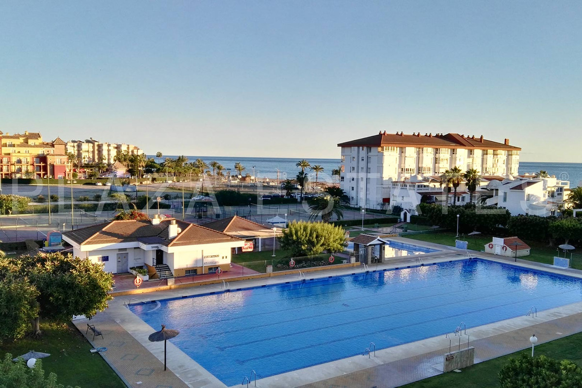 Apartment for sale in Torrox Costa, Urbanization Laguna Beach. The apartment consists of living room,Spain