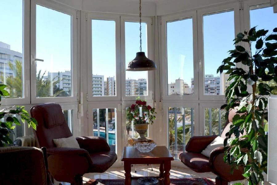This centrally located apartment is within a few minutes walk to the beach, and all other amenities.,Spain