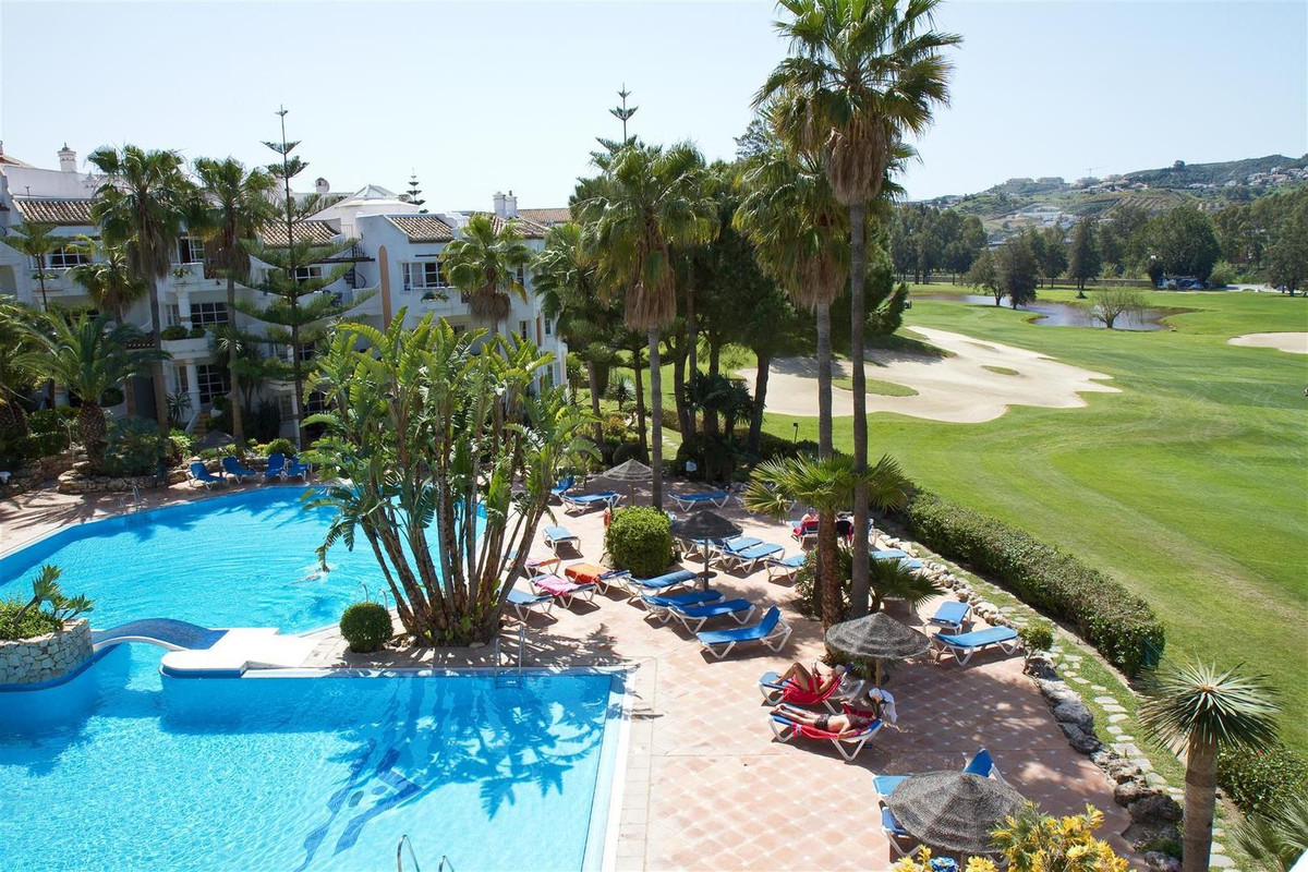 This fantastic property is located in the popular Mijas Golf area.   This luxurious and spacious apa,Spain