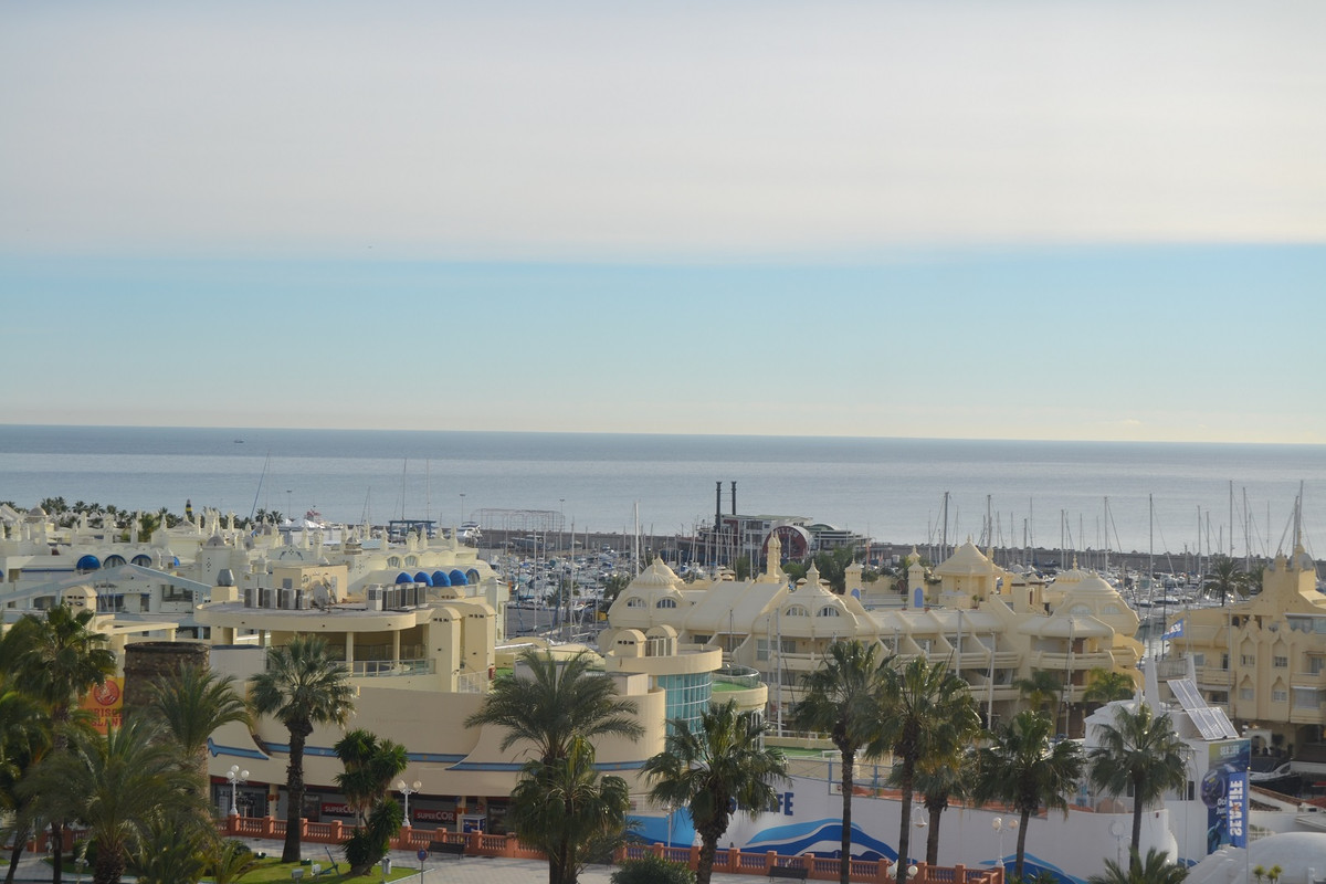 Best views on the coast for this beautiful apartment at the front of Puerto Marina in Benalmadena. T,Spain