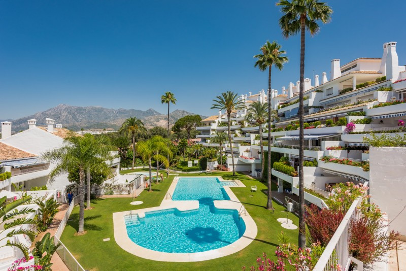 Duplex Penthouse for sale in Rio Real, Marbella East, with 3 bedrooms, 3 bathrooms and has a swimmin,Spain