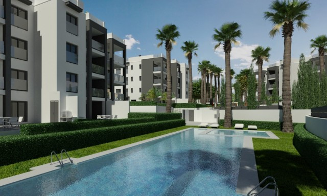 Modern new built apartments in Orihuela Costa, next to a large golf course, just 5 minutes drive fro,Spain